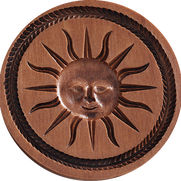 sun springerle cookie molds house on the