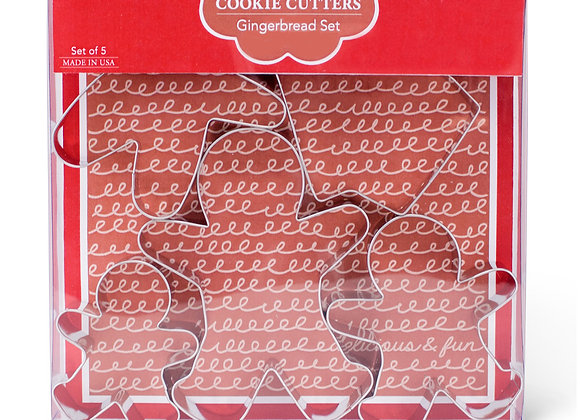 Gingerbread Cookie Cutter Boxed Set by Ann Clark