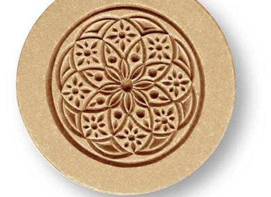 Bloom Ornament springerle cookie mold by Anis-Paradies 1675