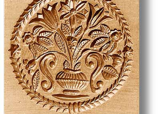 Bouquet of Flowers circa 1830 springerle cookie mold by Anis-Paradies 2321