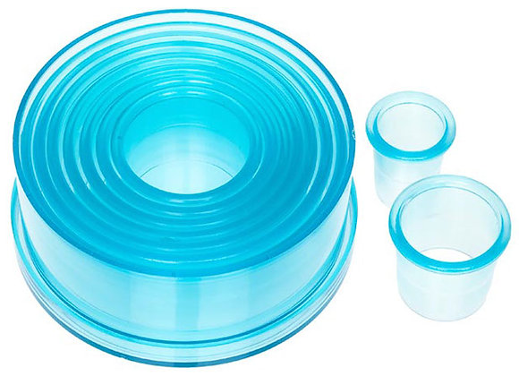 9 Piece Plain Circle Cutter Set