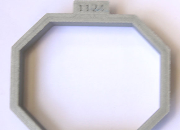 AP C - 1124 Eight Sided cookie cutter by Gingerhaus