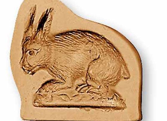 AP 3409 Baby Bunny springerle cookie mold by Anise Paradise 3409