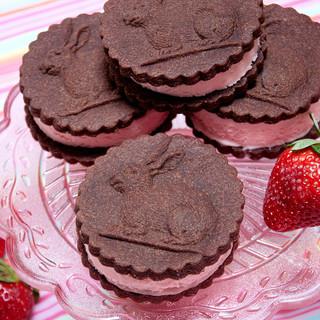 bunny springerle chocolate icecream sand