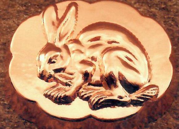 Swiss Bunny Rabbit Copper Baking Mold Cake Pan Birth-Gramm BG1104