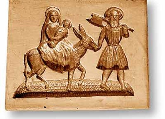 Flight into Egypt Christmas springerle cookie mold - Anis-Paradies 1109