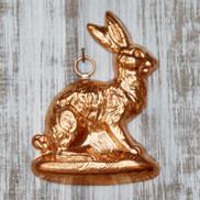 birth gramm rabbit left copper chocolate