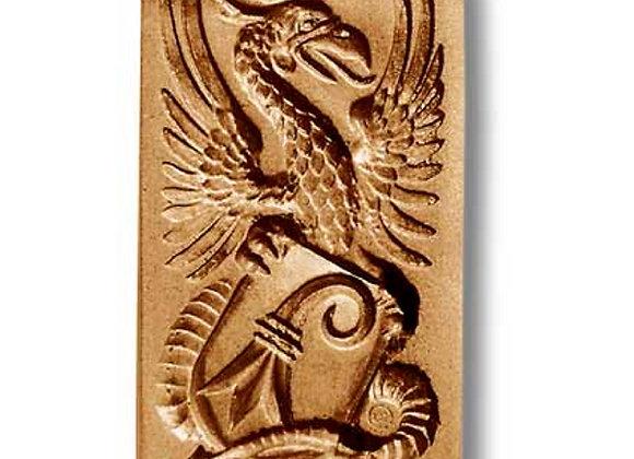 Basel Emblem with Basilisk springerle mold by Anise Paradise 4640