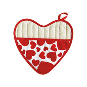 heart shaped potholder jesse steele 603-