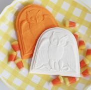 springerle cookie mold owl halloween 632