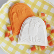 springerle cookie mold owl halloween