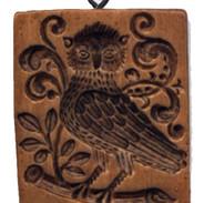 owl mold Springerle Mold