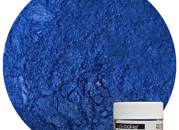 43-11514 Edible Luster Dust - Pool Blue - by CK Products