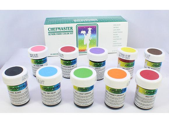 CHEFMASTER 10 COLOR SENIOR KIT 40-7960