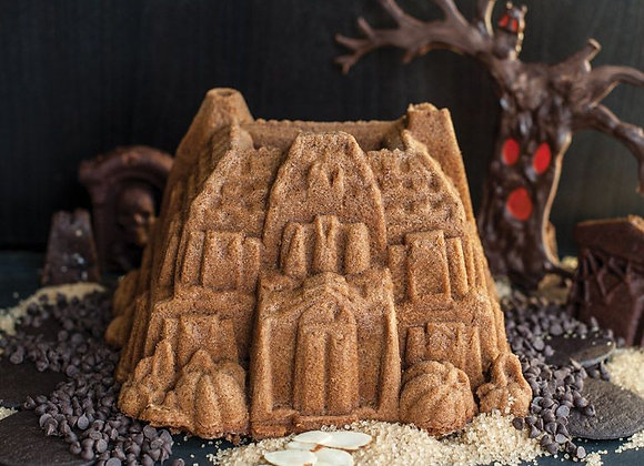 Haunted House Manor Bundt Cake Pan by Nordic Ware 92648
