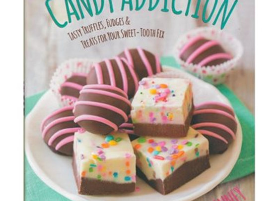 Sallys Candy Addiction  candy cookbook  by Sally McKenney 4908-000