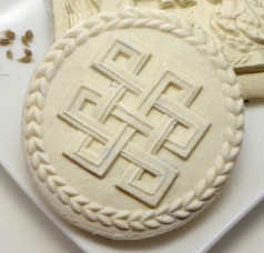 celtic knots cookie springerle mold