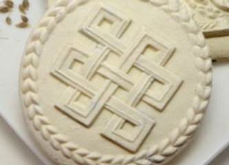 Good Luck Celtic Knots Springerle Cookie Mold By Anise Paradise Springerlecookiemold