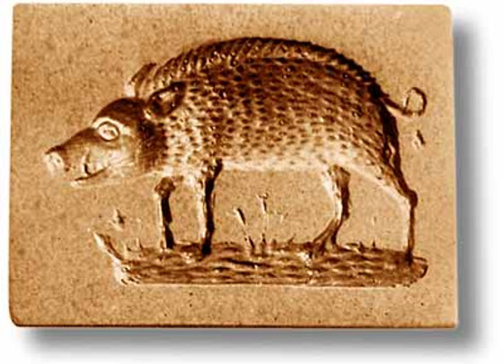 Wild Boar springerle cookie mold by Anis-Paradies 3466