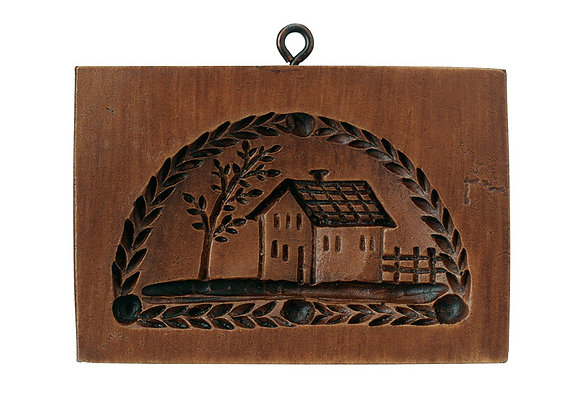 M2055 Country House Springerle Cookie Mold by House on the Hill
