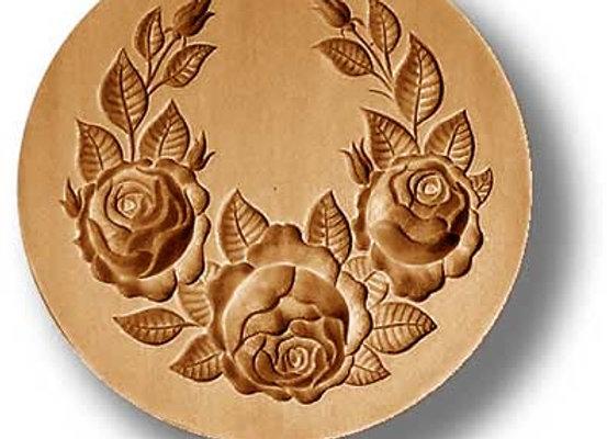 Rose Swag springerle cookie mold by Anis-Paradies 2225