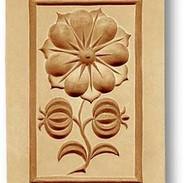2227 springerle cookie mold flower