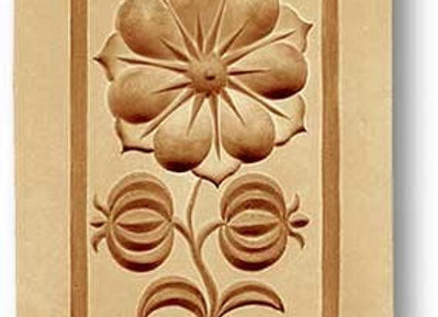 Swiss Rose springerle cookie mold by Anise Paradise 2227