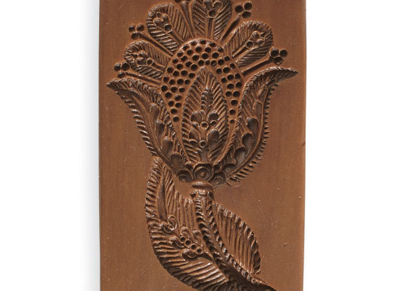 Elizabethan Tulip Springerle Cookie Mold  by House on the Hill M7430