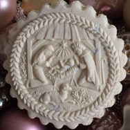 Christmas Creche Nativity springerle cookie mold by Anise Paradise SKU: 01241