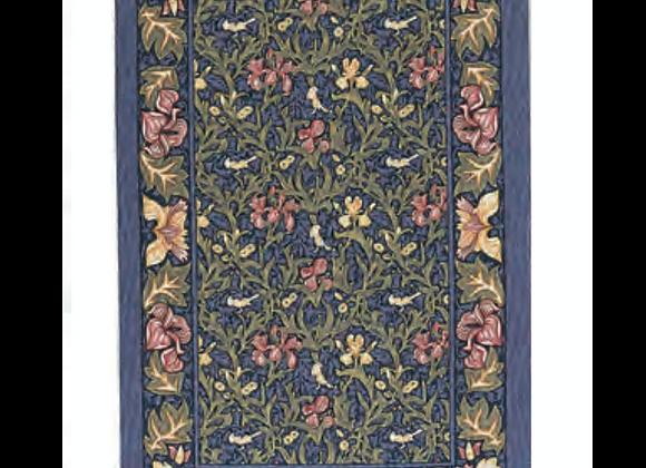 022BID Birds and Iris Cotton Tea Towel By Ulster Weavers
