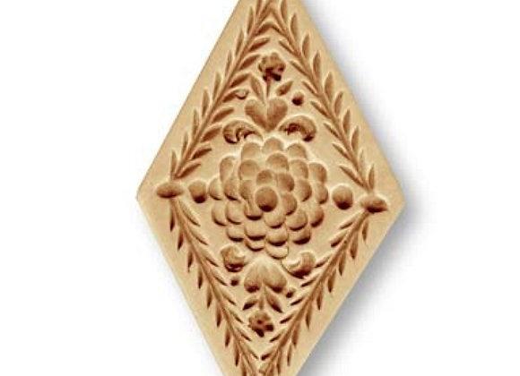 Diamond circa 1585 springerle cookie mold by Anise Paradise 5307