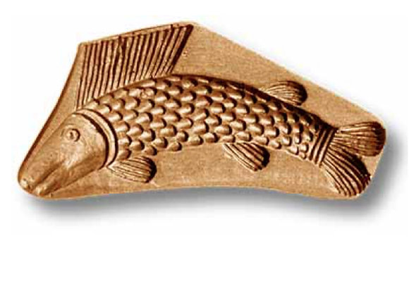 Fish circa 1720 springerle cookie mold by Anise Paradise 3504