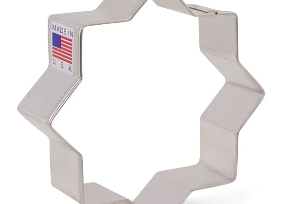 Eight Pointed Star of David Cookie Cutter