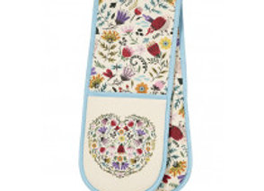 Melody Springerle Double Glove Oven Mitt by Ulster Weavers 7MDY03