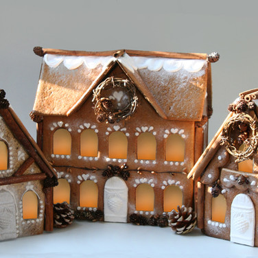 Gingerhaus gingerbread house kits