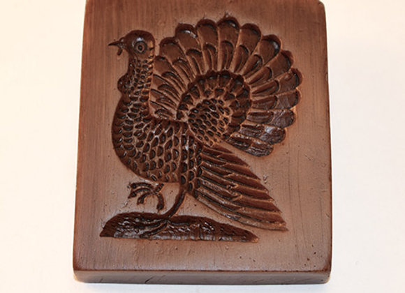 Classic Turkey Springerle Cookie Mold  by House on the Hill M6228