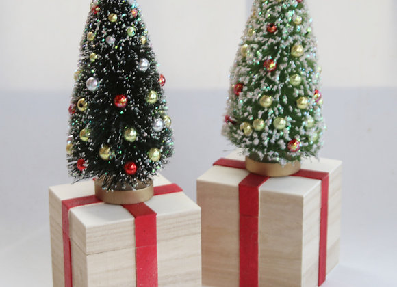 Christmas Tree music box by Gingerhaus - Lee Shepherd MB-TREE