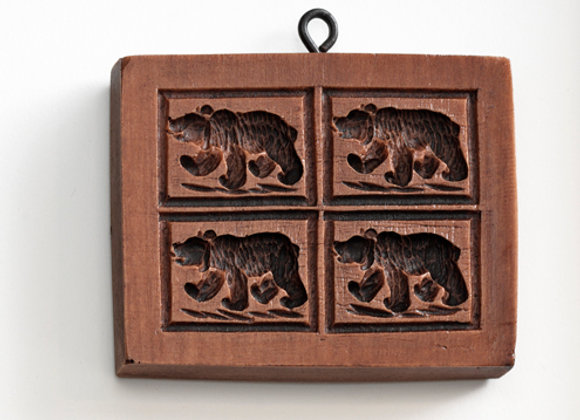 Bern Bears Springerle Cookie Mold  by House on the Hill