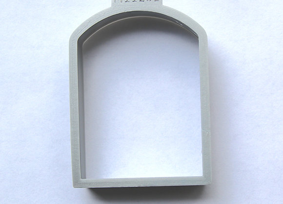 C-M11201 Arch Shaped (12 Days) Cookie Cutter by Gingerhaus