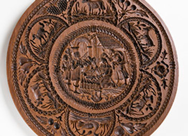 M2040 Complete Nativity Springerle Cookie Mold by House on the Hill M2040
