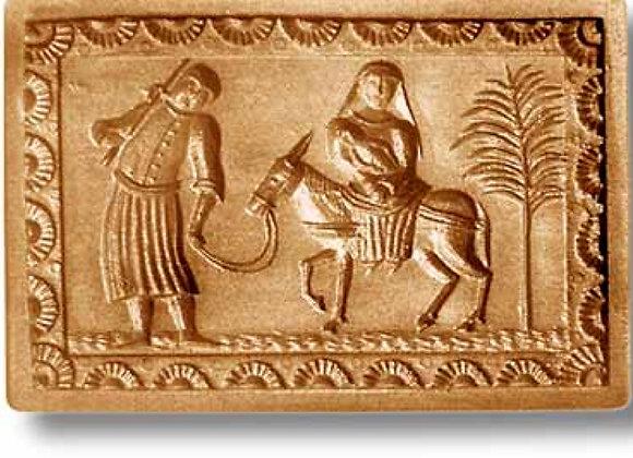Flight into Egypt cir 1835 Christmas springerle cookie mold - Anis-Paradies 1052
