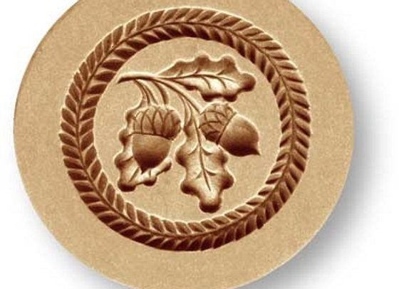Two Acorns springerle cookie mold by Anis-Paradies 02977