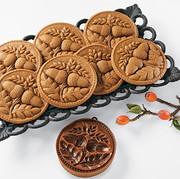 Double Acorn Gingerbread Springerle Mold