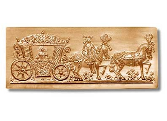 AP 5629 Love Coach cookie mold by Anise Paradise