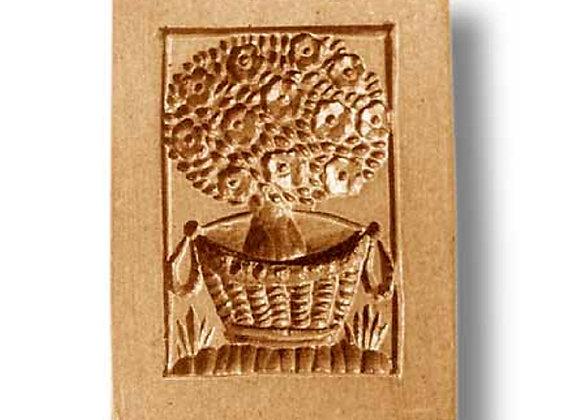AP 2272 Rose Bush springerle cookie mold by Anis-Paradies