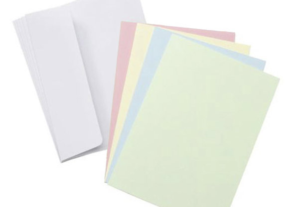 Core'dinations Blank Cards and Envelopes - Asst Pastels GX-8000-88