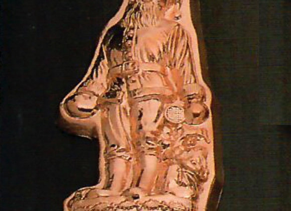BG1240 Swiss Santa Copper Baking Mold Cake Pan Birth-Gramm