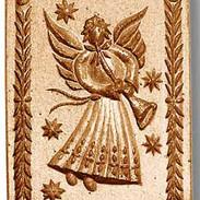 1147 springerle cookie mold angel