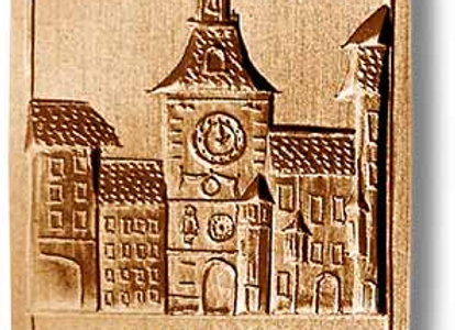 Bern Zytglogge (Clock Tower) springerle cookie mold by Anis Paradies 4612