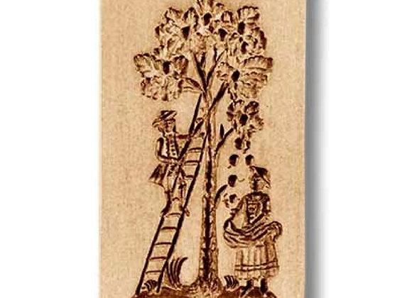 Apple Harvest circa 1750 springerle cookie mold by Anis-Paradies 7956